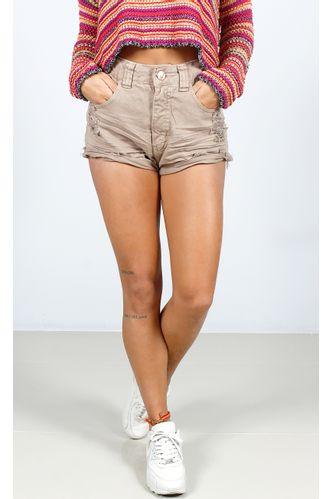 Shorts-Destroyed-Botoes-Marrom