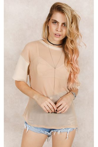 T--Shirt-Det-Neoprene-w--Top-Nude