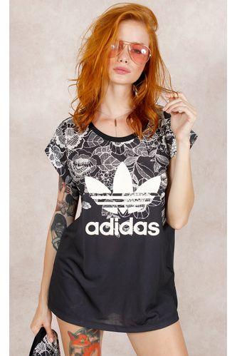 Camiseta-Adidas-Florido-Farm-Estampa