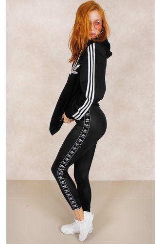 Calca-Adidas-Legging-3-Stripes-Preto