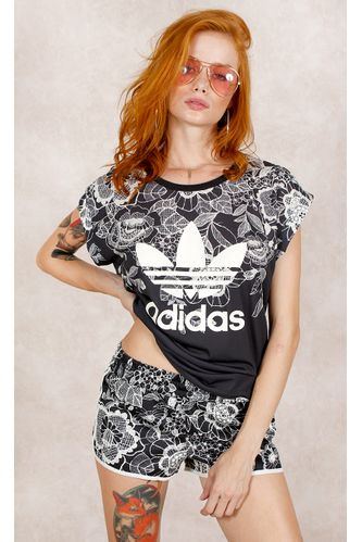 Shorts-Adidas-Florido-Farm-Estampa