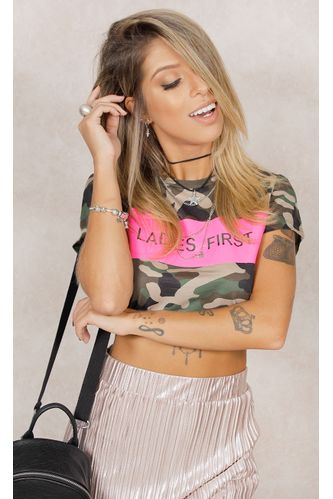 Cropped-Militar-For-Ladies-Estampa
