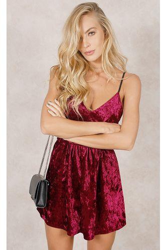 Vestido-Midnight-Veludo-Burgundy