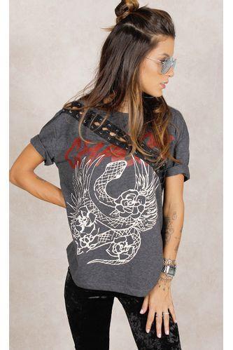 Camiseta-Snake-Trancada-Grafite