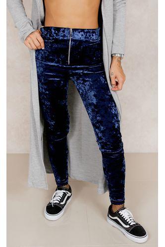 Calca-Hot-Pants-Velvet-American-Azul