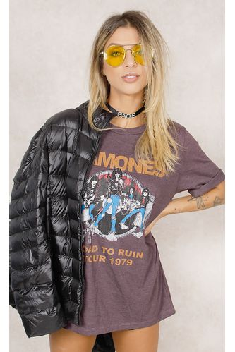 T---Shirt-Ramones-Road-To-Run-Roxo-