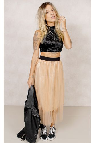 Saia--Midi-Fancy-Tule-Nude