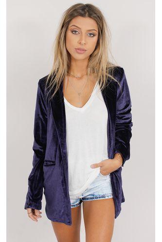 Blazer-Oversized-Velvet-Fashion-Azul-