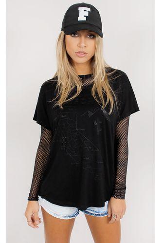 T--Shirt-California-Black