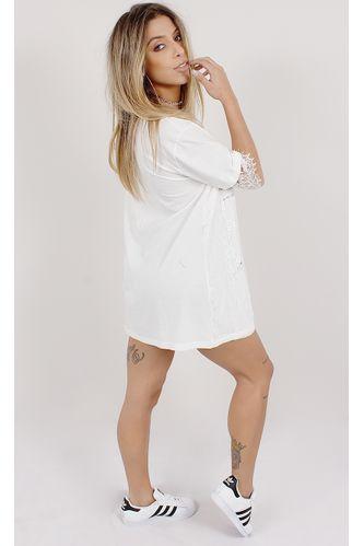 Tee-Dress-Rebel-Renda-Branco