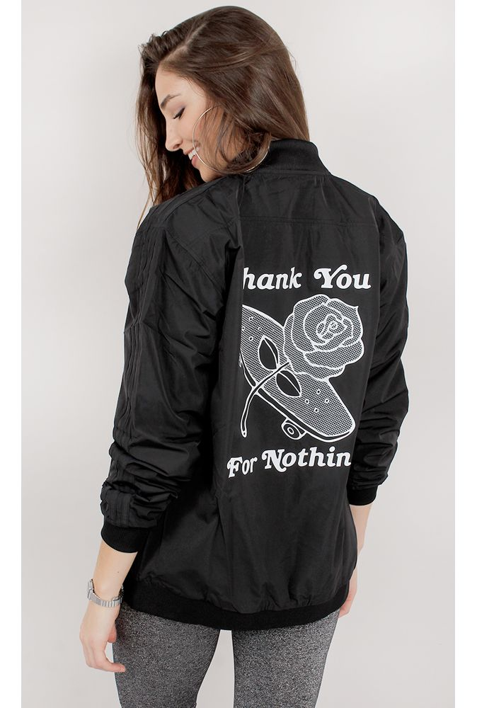 casaco adidas preto e rosa