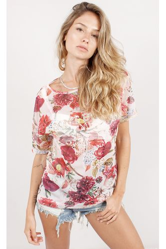 T--Shirt-Xoxo-Floral-Estampa