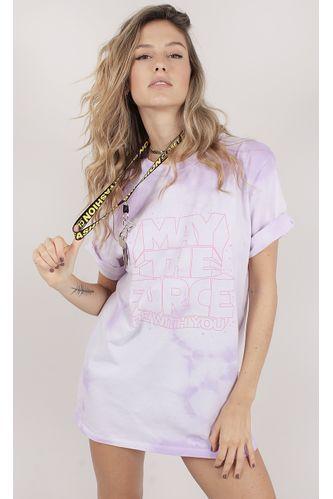 Camiseta-Estampa-Be-With-You-Roxo