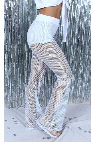 calca-flare-mesh-catalina-branco