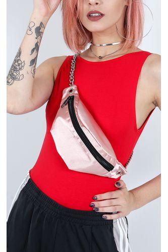 pochete-acetinada-corrente-rosa