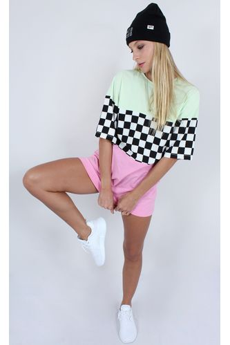 camiseta-recortes-checkerboard-verde