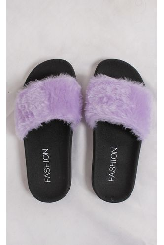 Chinelo-Slide-Fluffy-Lilas