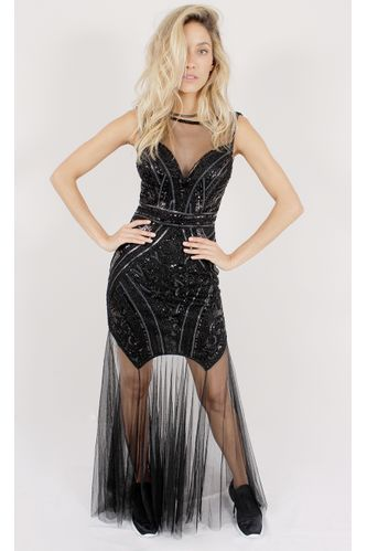 vestido-longo-party-lady-com-paete-preto