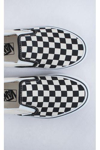 tenis-vans-classic-slip---on-chekerboard-estampa