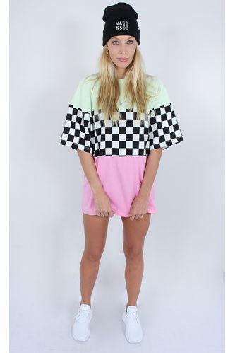 camiseta-recortes-checkerboard-verde