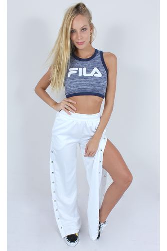 top-fila-cropped-double-azul