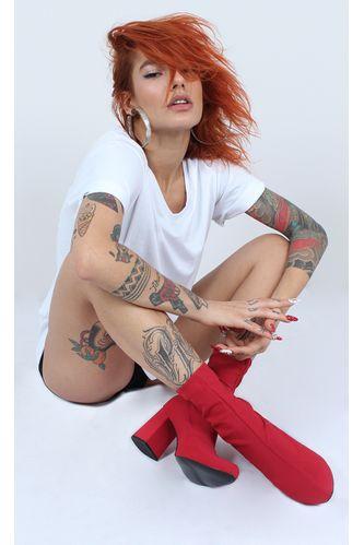 bota-socks-paris-vermelho
