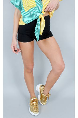 Hotpants-Cotton-Preto
