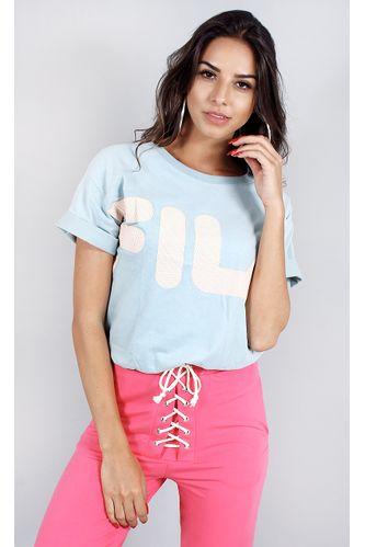 camiseta-fila-fine-azul