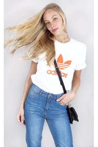 camiseta-adidas-trefoil-lg-coral-branco