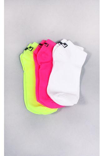 tripack-fila-cano-invisivel-neon-3-pares-colorido