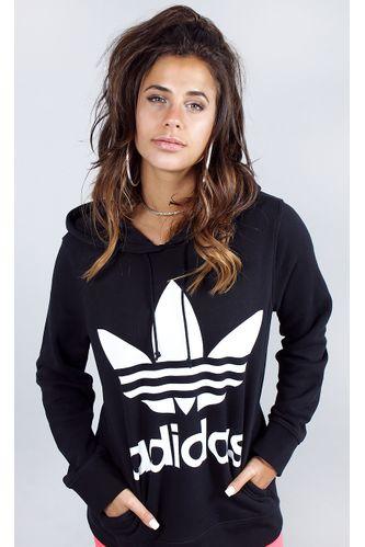 blusa-adidas-trefoil-hoodie-preto