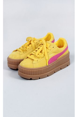 tenis-puma-cleated-creeper-suede-amarelo
