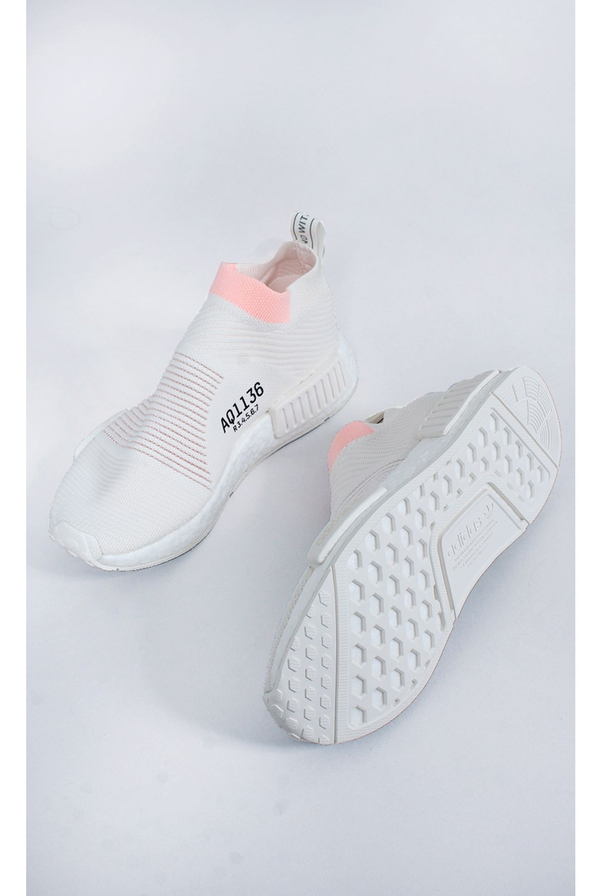 6dc9cb5f21 FSHN tênis adidas nmd cs1 pk w off white - Fashion Closet