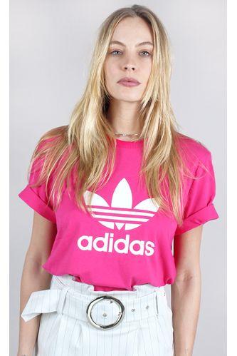 camiseta-adidas-trefoil-rosa