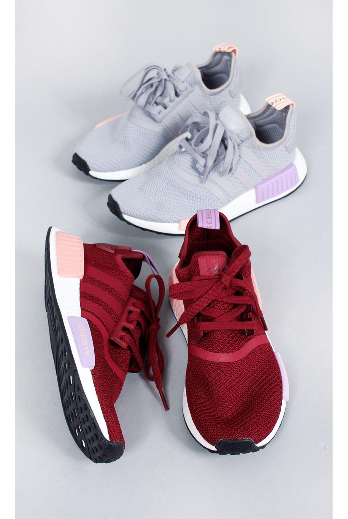 6cec2b39c Fashion Closet · ROUPAS · CALÇADOS. Previous. tenis-adidas-nmd-r1-w-burgundy