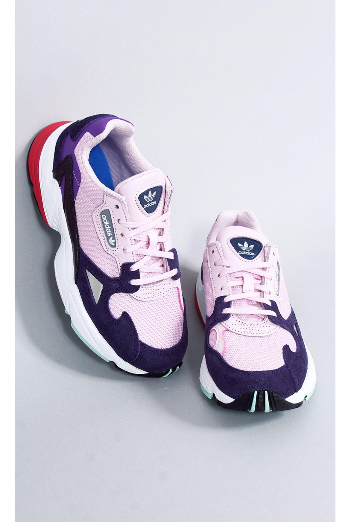 422059bc7e9 FSHN tênis adidas falcon w 25 rosa - Fashion Closet