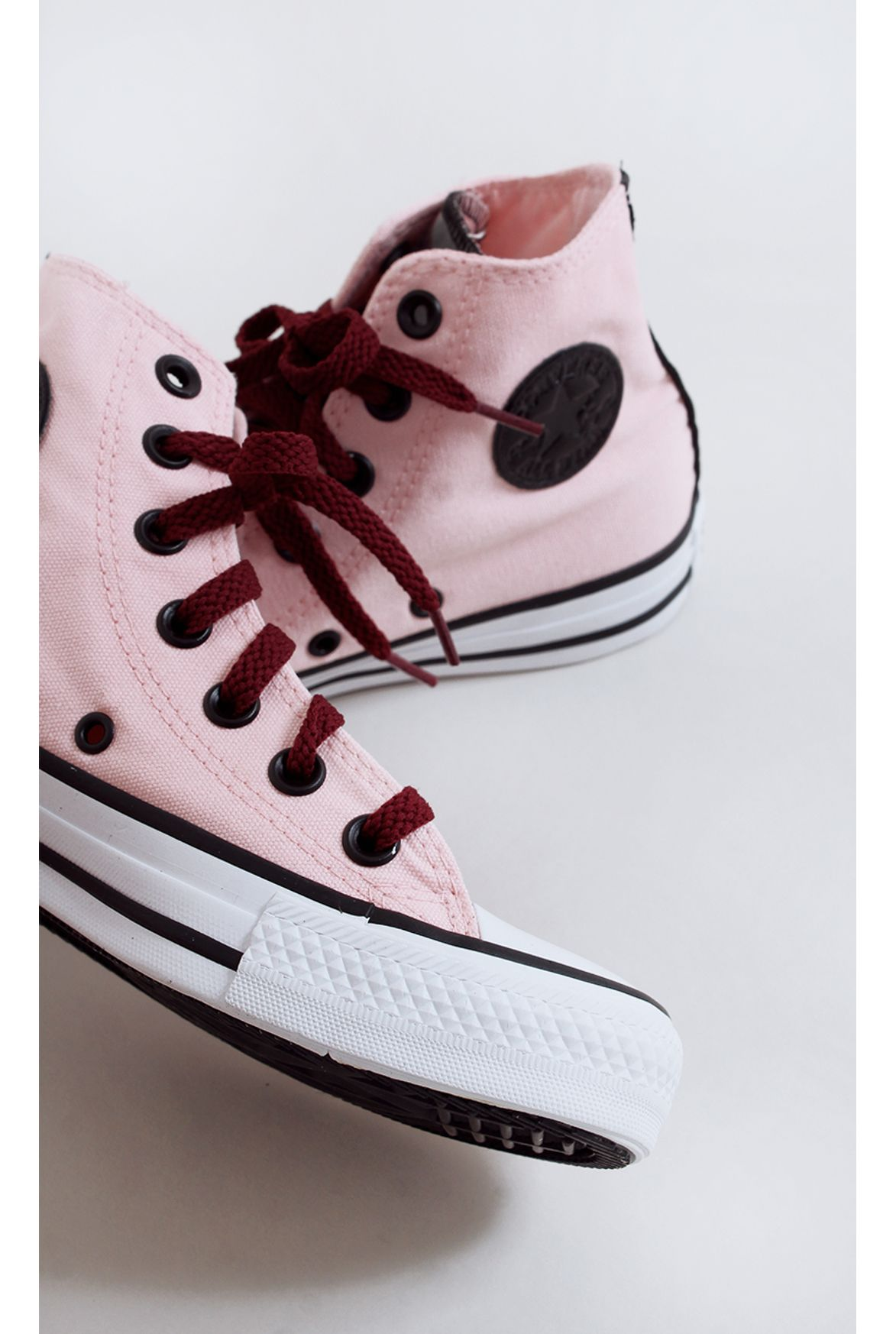 d864a757b2f FSHN tênis all star converse taylor rosa - Fashion Closet