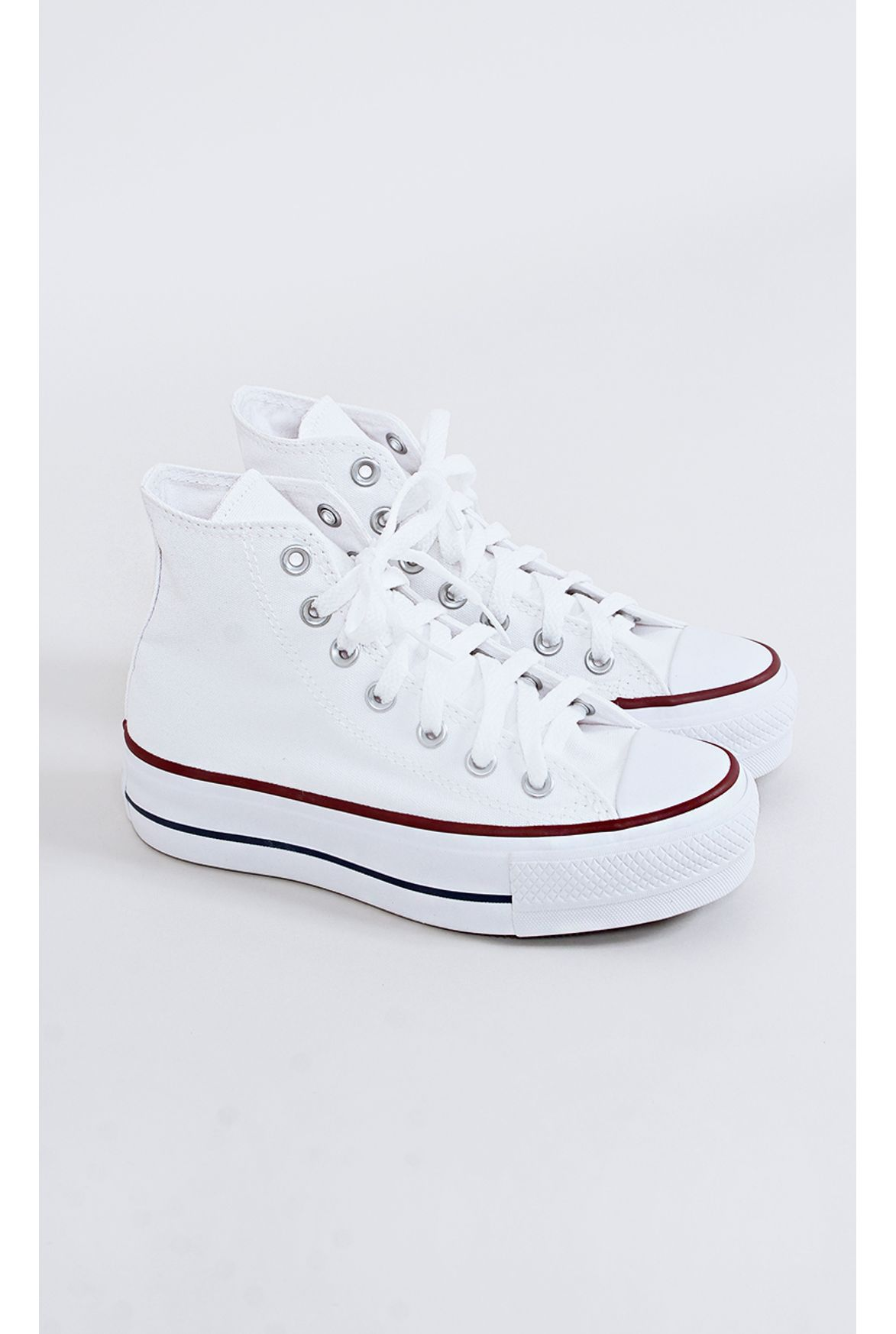 a4b0697136 FSHN tênis all star converse flatform branco - Fashion Closet