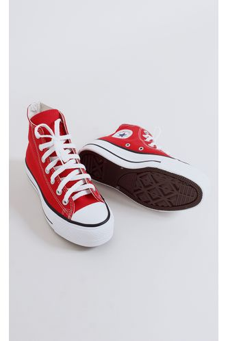 tenis-all-star-converse-flatform-vermelho