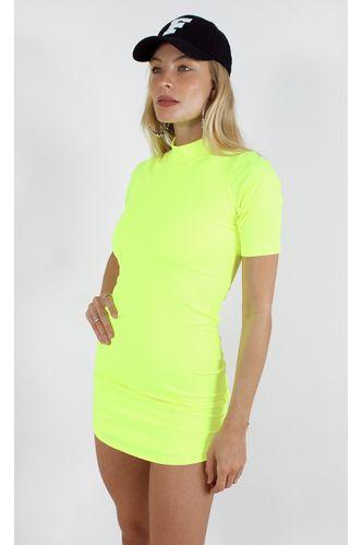 vestido-selena-neon-canelado-verde