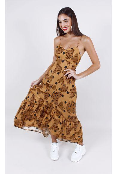 vestido-farm-cropped-bananica-marrom