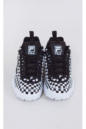 tenis-fila-disruptor-II-checker-branco