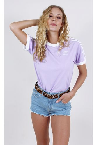 camiseta-adidas-3-stripes-tee-lilas