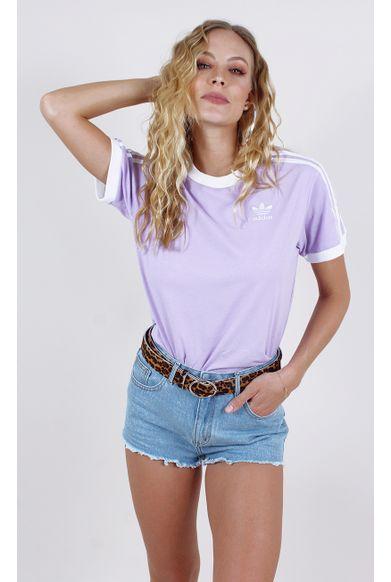 camiseta-adidas-3-stripes-tee-lilas