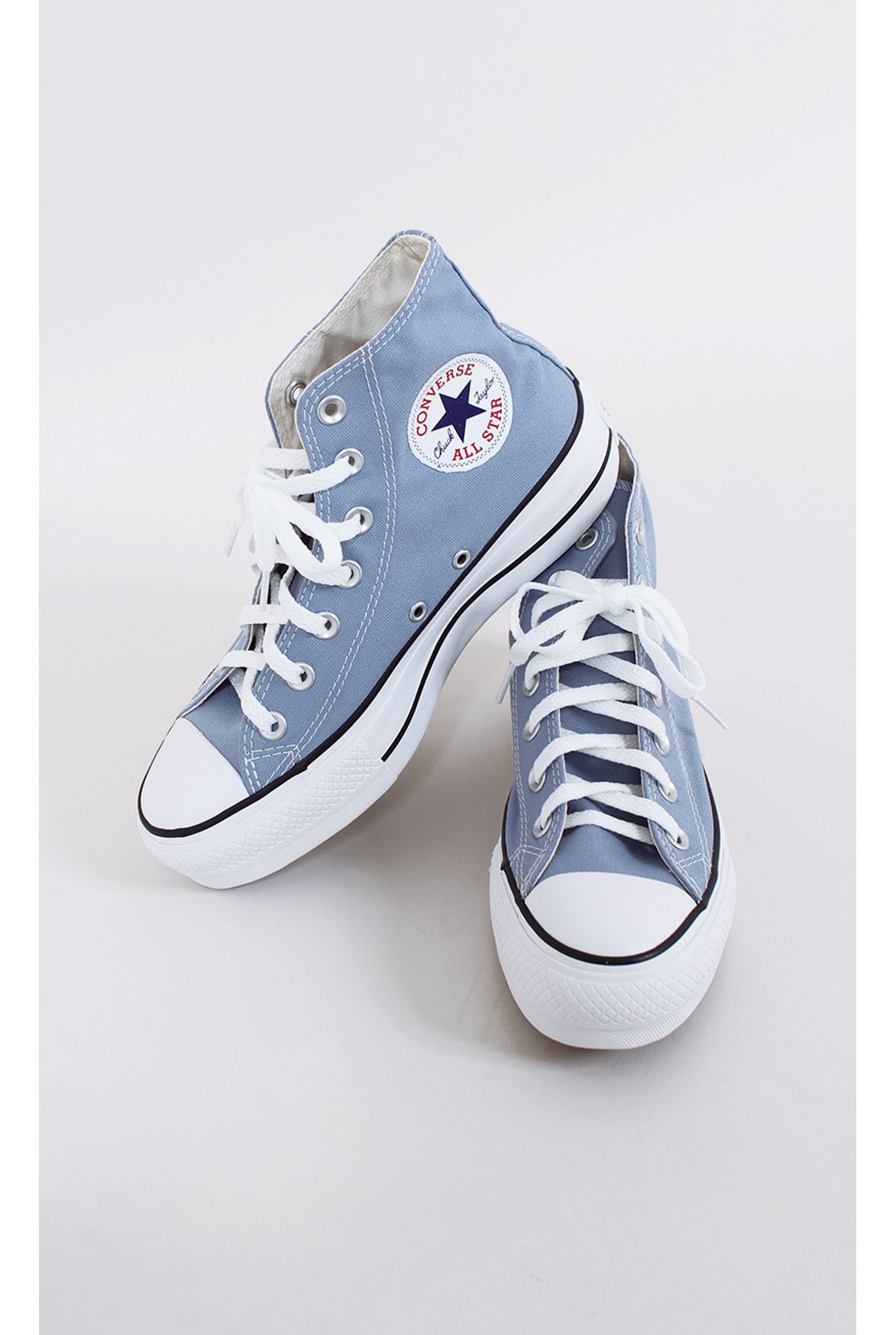a1aec9c7c9 tênis all star converse flatform azul - Fashion Closet