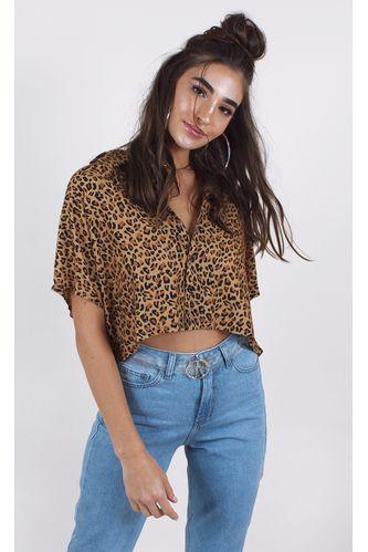camisa-farm-borboleta-de-onca-marrom