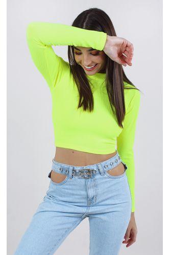 cropped-selena-neon-canelado-verde