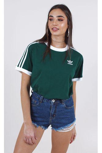 camiseta-adidas-3-stripes-tee-verde