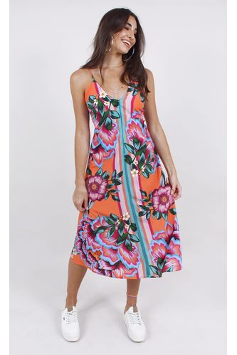 vestido-farm-midi-flor-iris-laranja