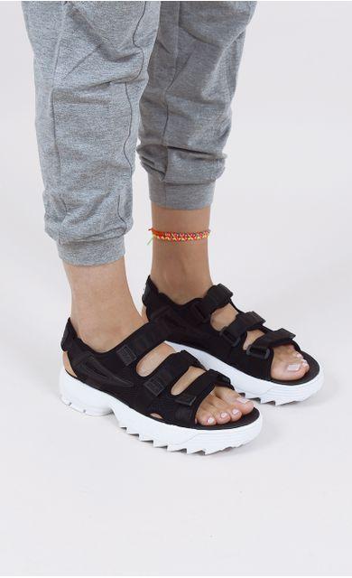 sandalia-fila-disruptor-preto